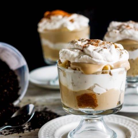 Chai Masala Tea-Infused Trifle