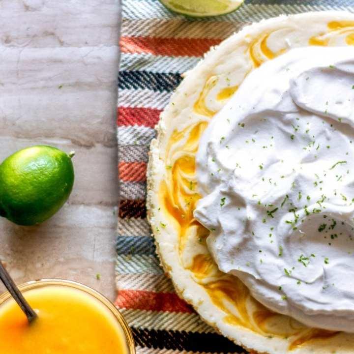 Mango Margarita Cheesecake
