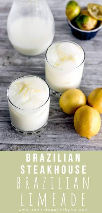 Brazilian Limeade is a creamy, refreshing addition to Taco Tuesday with only 4 simple ingredients!