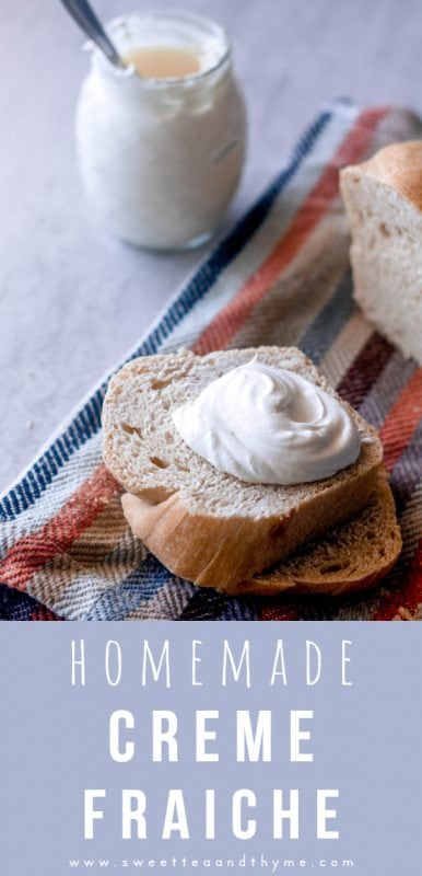 Creme fraiche is sour cream's fancy, French, expensive sister in the grocery store. But with just two ingredients and a day, you can have homemade creme fraiche for pennies on the dollar.