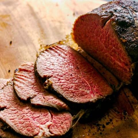 Tender Eye of Round Roast Beef