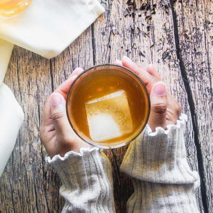 Sweet Tea and Bourbon Cocktail