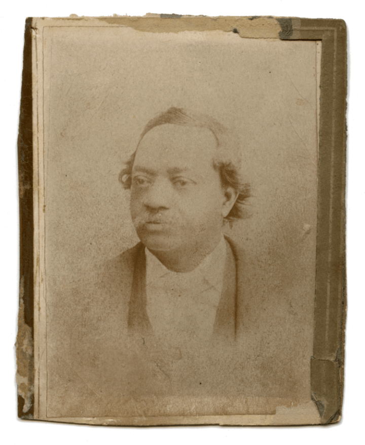 the only known photo of John Dabney