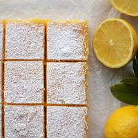 The Ultimate Lemon Curd Slice {gf}