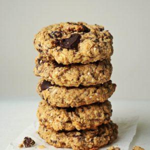 Vegan Chocolate Chunk Lactation Cookies