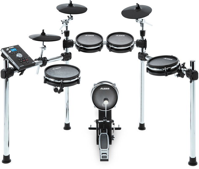 7 Best Electronic Drum Kits 2019 Alesis Command Mesh