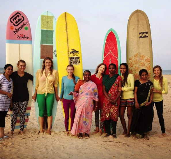 THe lolvely crew and our beautiful experience with the women of manapad