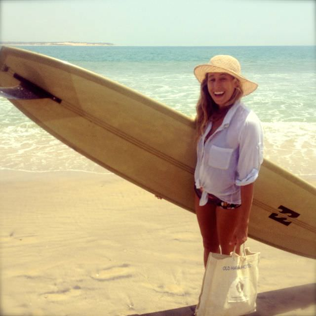 Miss Lauren Lindsay Hill, surfing's favorite eco-feminist. Smart as a whip, stoked as a grom, and lovely as  butterfly.