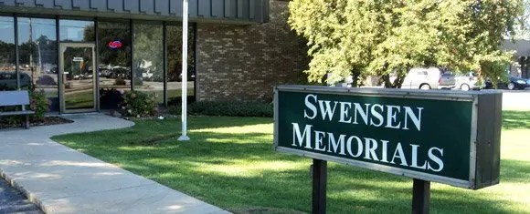 Swensen Memorials Office