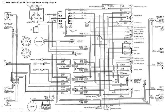 1978 dodge wiring harness  description wiring diagrams www