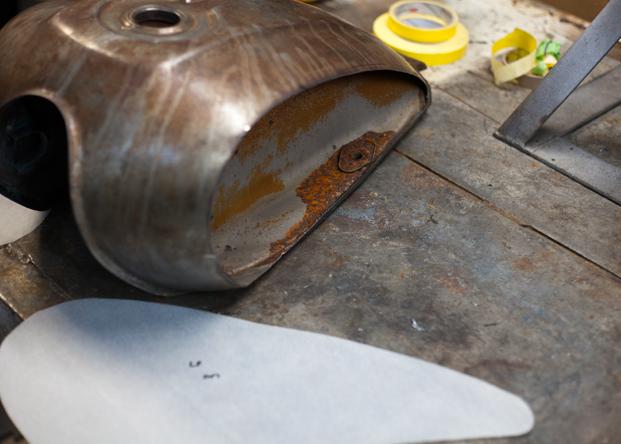 Gas Tank Modification Archives | The Shop Blog | Swerve Customs
