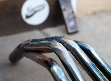 welded in repaired metal