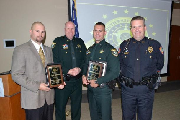Lee County Sheriff's Deputies Rick Russo and Michael Tamulionis