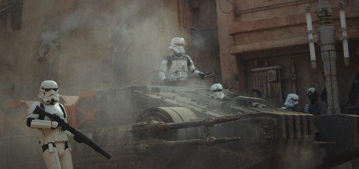 Tank trooper on Jedha.