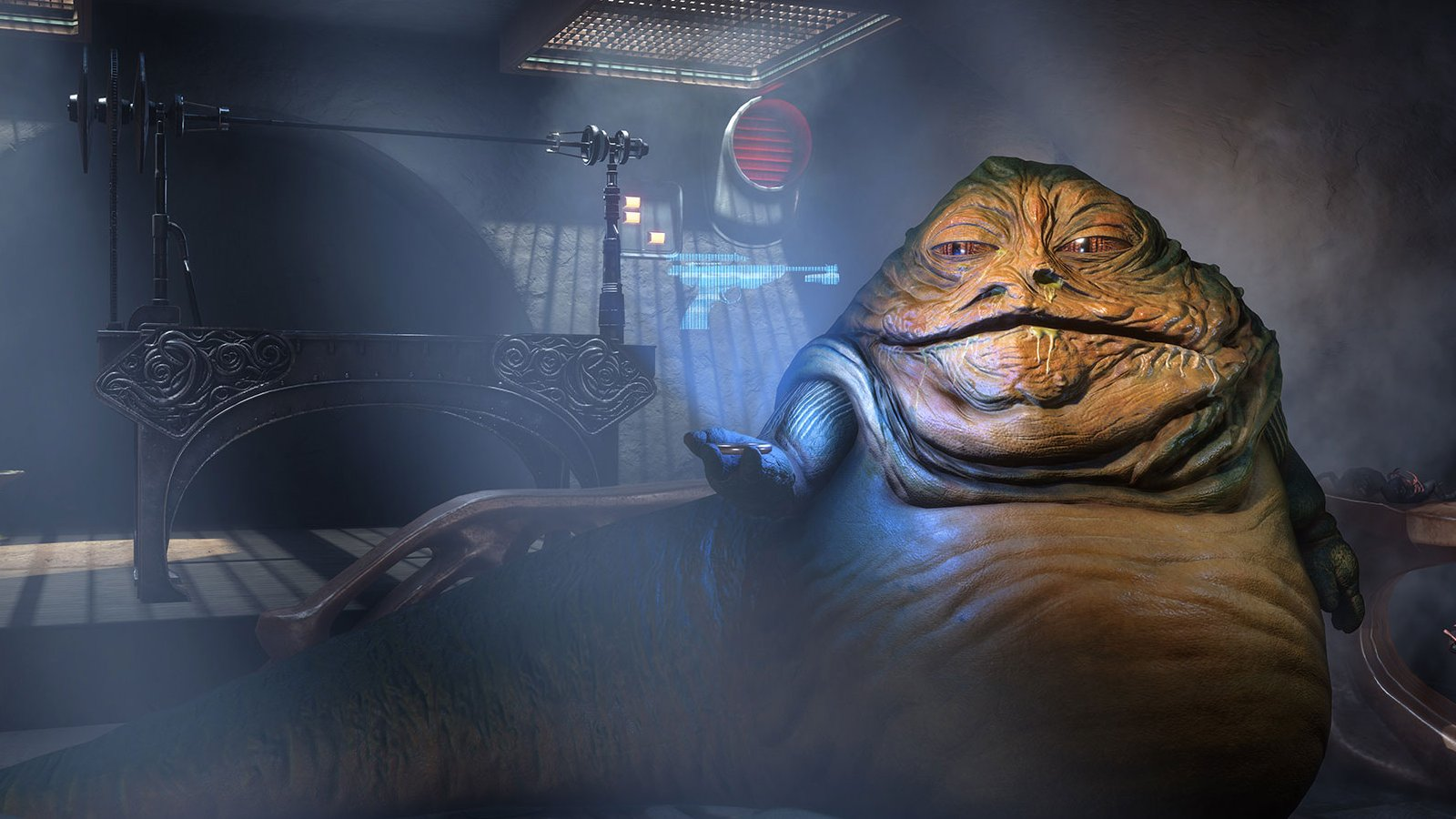 Jabba in Battlefront.