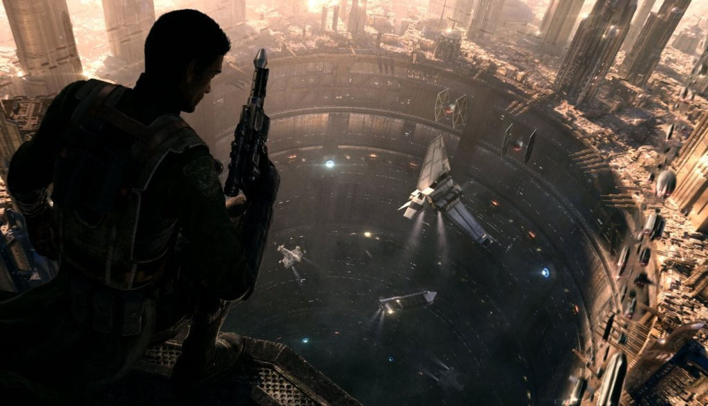 Concept art for Star Wars 1313.