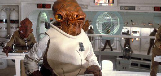 Admiral Ackbar in Star Wars.