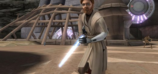 Obi-Wan from The Clone Wars TV show in Battlefront II.