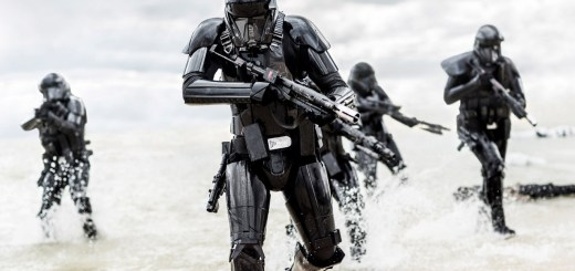 Death Troopers on Scarif in Rogue One.