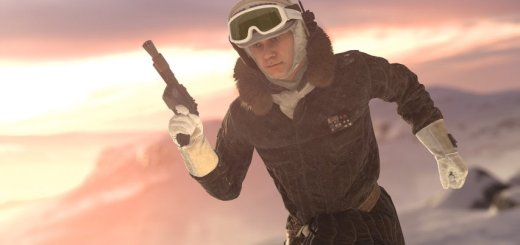 Han Solo on Hoth in Battlefront.