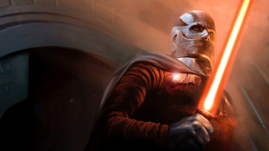 Art of Darth Malak from KOTOR.