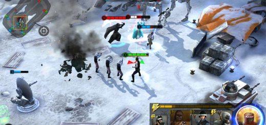 Screenshot of Star Wars: Force Arena.