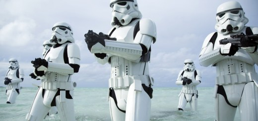 Stormtroopers on Scarif.
