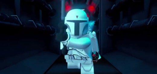 Prototype Boba Fett in LEGO Star Wars.