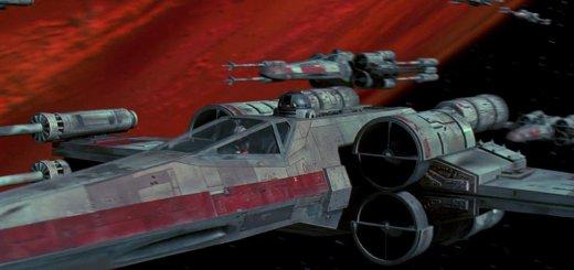 Luke's X-Wing in A New Hope.