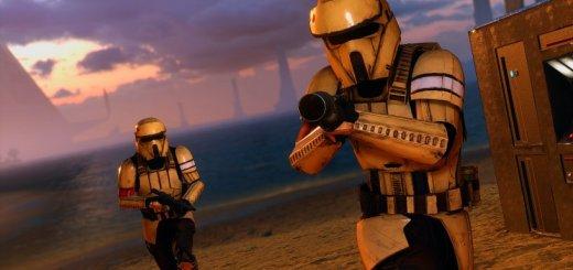 Shoretrooper in Battlefront.