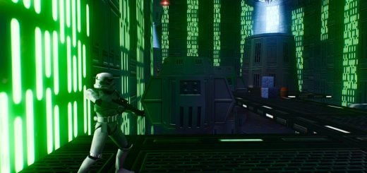 Image from harrisonfog's Rezzed Death Star project for Battlefront II.