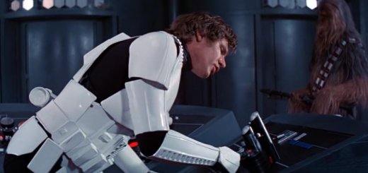 Han Solo speaking on the Death Star in A New Hope.