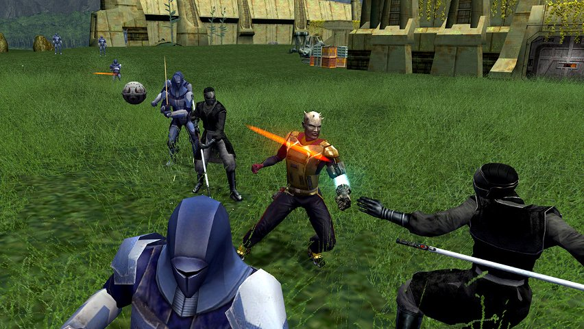 Promo image from the second KOTOR game.