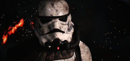 A stormtrooper in Battlefront. Image by Cinematic Captures.