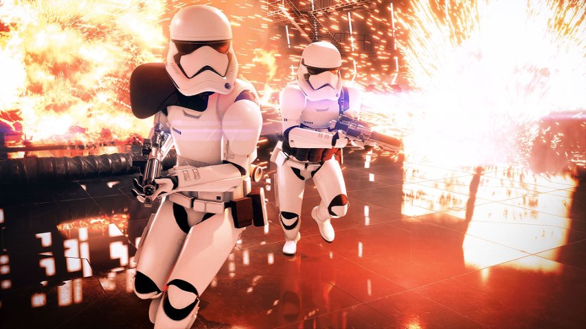 First Order stormtroopers from Battlefront II.