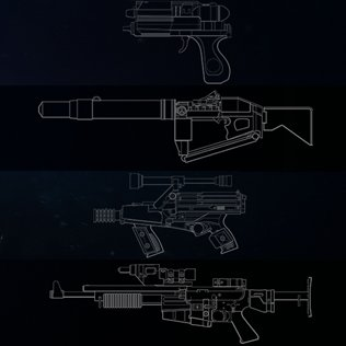 Battlefront II pre-order weapons.