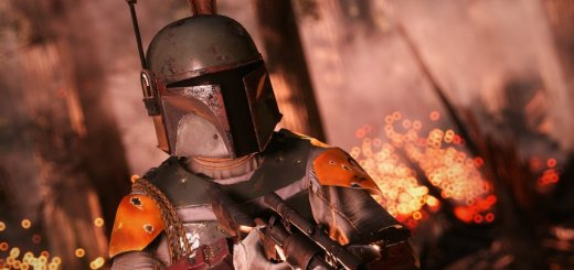 Boba Fett in EA's first Battlefront. Image by Cinematic Captures.