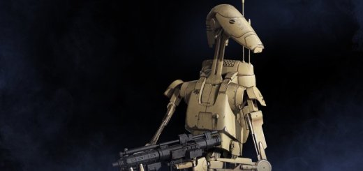 A B1 Battle Droid from Battlefront II.