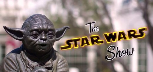 Yoda in the intro of The Star Wars show.