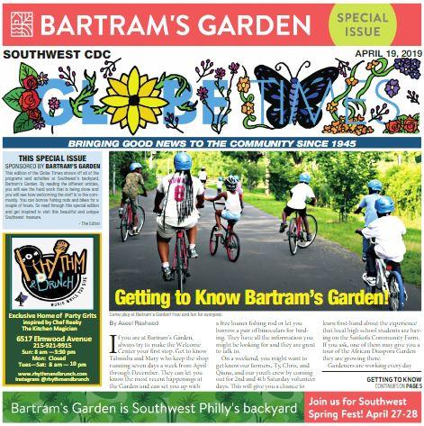 Globe Times Bartram's Garden April 19, 2019 issue