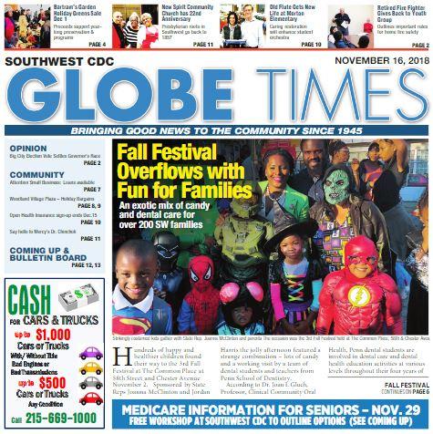 Globe Times November 16, 2018 issue