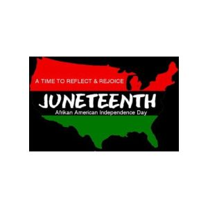 Juneteenth Afrikan American Independence Day