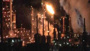 Globe Times - PES Refinery Fire
