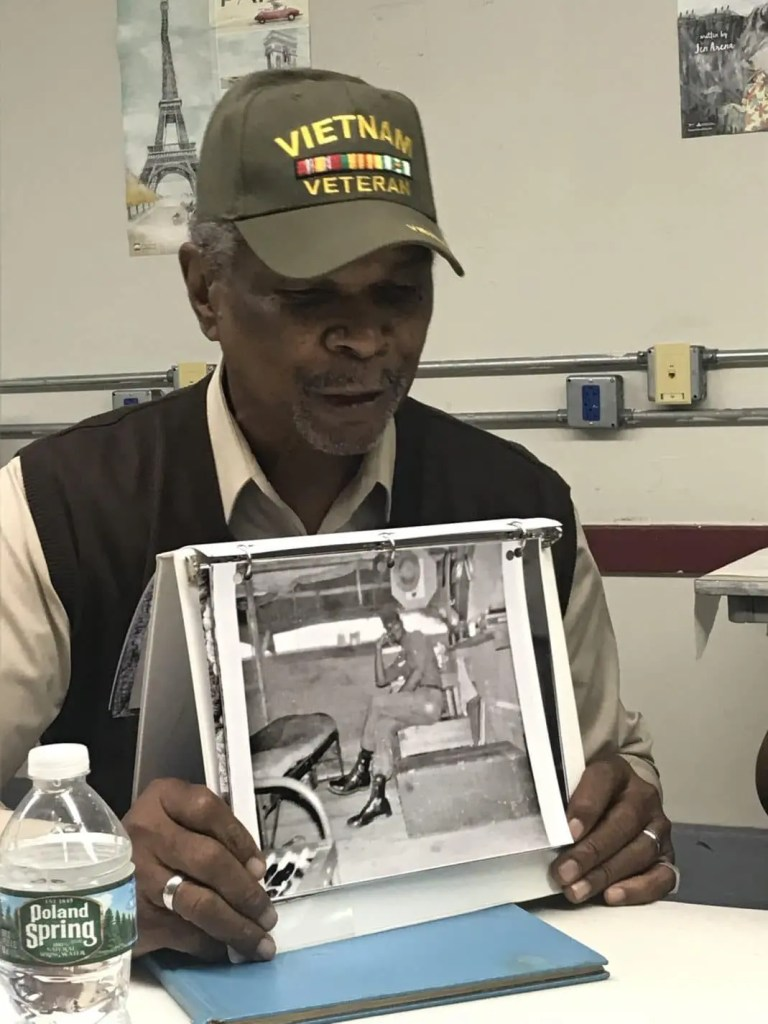 Bruce Buchanan, sharing a picture of himself as a young serviceman in Vietnam