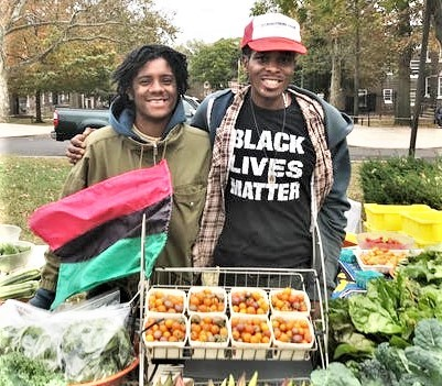 Local Youth not only grow delicious produce at Bartram's Garden's Sankofa Community Farm, they learn practical business skills by selling it at their street stall on Lindbergh Blvd every Thursday afternoon from 3-6 p.m.