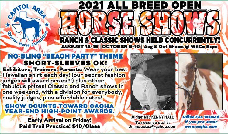 Capital Area Quarter Horse Association