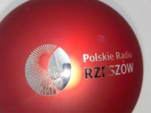 bombki świątczne polskie radio rzeszów z grawerem logo