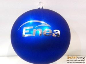 bombki grawerowane z logo Enea