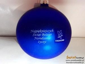 bombki z logo thuasne Najpiękniejszych świąt