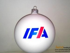bombki z kolorowym nadrukiem IFA